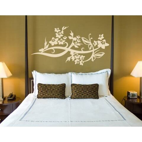 Wing Vine Wall Decal
