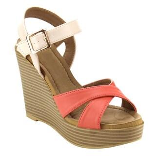 Beston BC01 Women's Platform Wedge Sandals