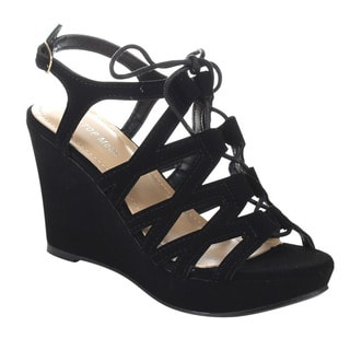 Beston CB90 Women's Gladiator Wedge Sandals