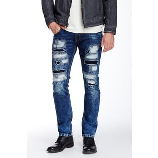 XRAY BlacX Men's Rip Wall Jeans