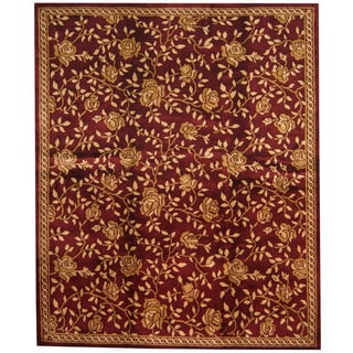 Herat Oriental Indo Hand-knotted Tibetan Wool Rug (8' x 9'9)