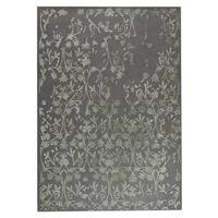 M.A.Trading Hand-Tufted Indo Santoor Grey Rug (5'6 x 7'10)