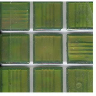 Pearl Olive Green 3/4 Inch Brio Mosaic Tiles