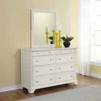 Gracewood Hollow Bevington White Dresser and Optional Mirror