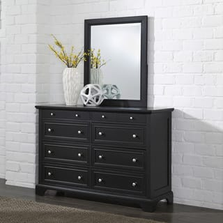 Gracewood Hollow Antoine Black Wood Dresser And Optional Matching Mirror