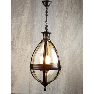 Tear Drop Bronze Hanging Lamp