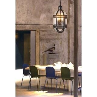 Madrid Bronze Capsule Hanging Lamp