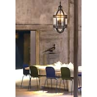 Madrid Bronze Capsule Hanging Lamp