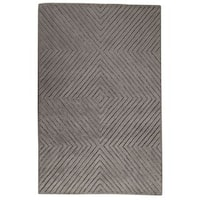 M.A. Trading Hand-tufted Indo Union Square Grey Rug - 7'6 x 9'6