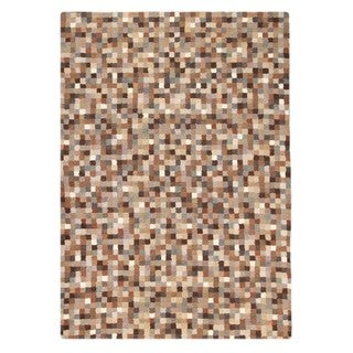 M.A.Trading Hand-Tufted Indo Optima Natural Rug (5'6 x 7'10)