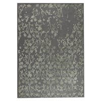 Handmade M.A.Trading Indo Santoor Grey Rug (8'3 x 11'6) (India)