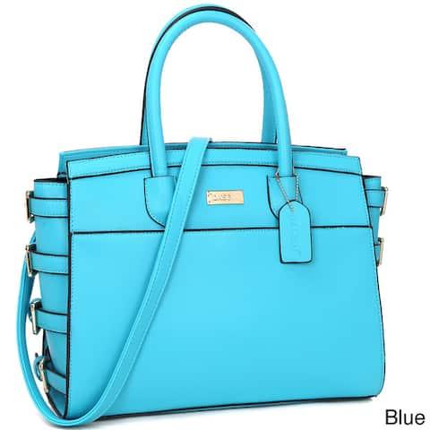 Dasein Women's Classic Work Satchel Handbag