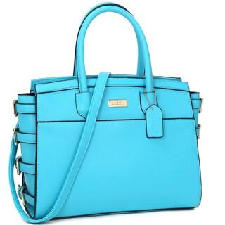 Dasein Women's Classic Work Satchel Handbag (3 options available)