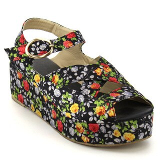 Flower Platform Wedges