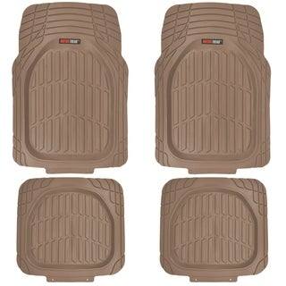 MotorTrend FlexTough Tortoise Heavy-duty Rubber Floor Mats