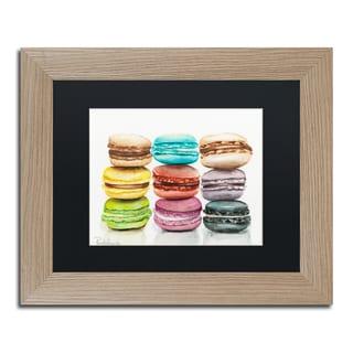 Jennifer Redstreake '9 Macarons' Matted Framed Art