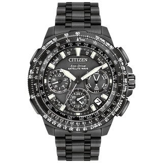 Citizen Men's CC9025-85E Black Promaster Navihawk GPS Titanium Watch