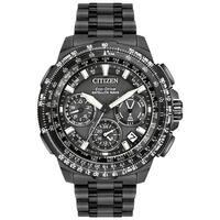 Citizen Men's CC9025-85E Black Promaster Navihawk GPS Titanium Watch