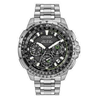 Citizen Men's CC9030-51E Promaster Navihawk GPS Stainless Steel Watch