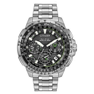 Citizen Men's CC9030-51E Promaster Navihawk GPS Stainless Steel Watch
