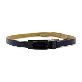 Versace Blue Leather Women's 31-inch Belt