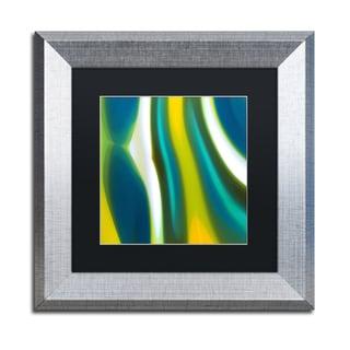 Amy Vangsgard 'Spring Stream 2' Matted Framed Art