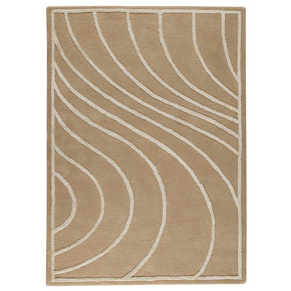 M.A.Trading Hand-Tufted Indo Lake Placid Cream Rug (8'3 x 11'6)