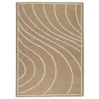 Handmade M.A.Trading Indo Lake Placid Cream Rug (8'3 x 11'6) (India)