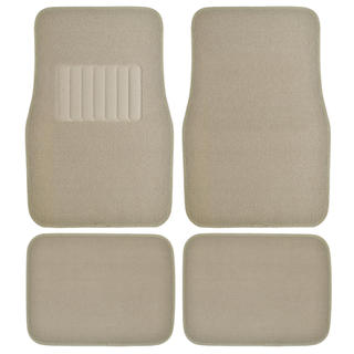 Motor Trend 4-piece ThickRug Carpet Floor Mats