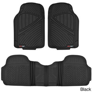 Motor Trend FlexTough Baseline Heavy-duty Rubber Floor Mats