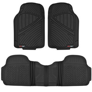 Motor Trend FlexTough Baseline Heavy-duty Rubber Floor Mats (3 options available)