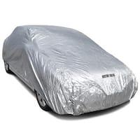 Motor Trend Poly Water Resistant One-car Cover with Lock