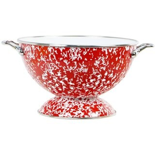 Reston Lloyd Calypso Basics Red 3-quart Marble Colander