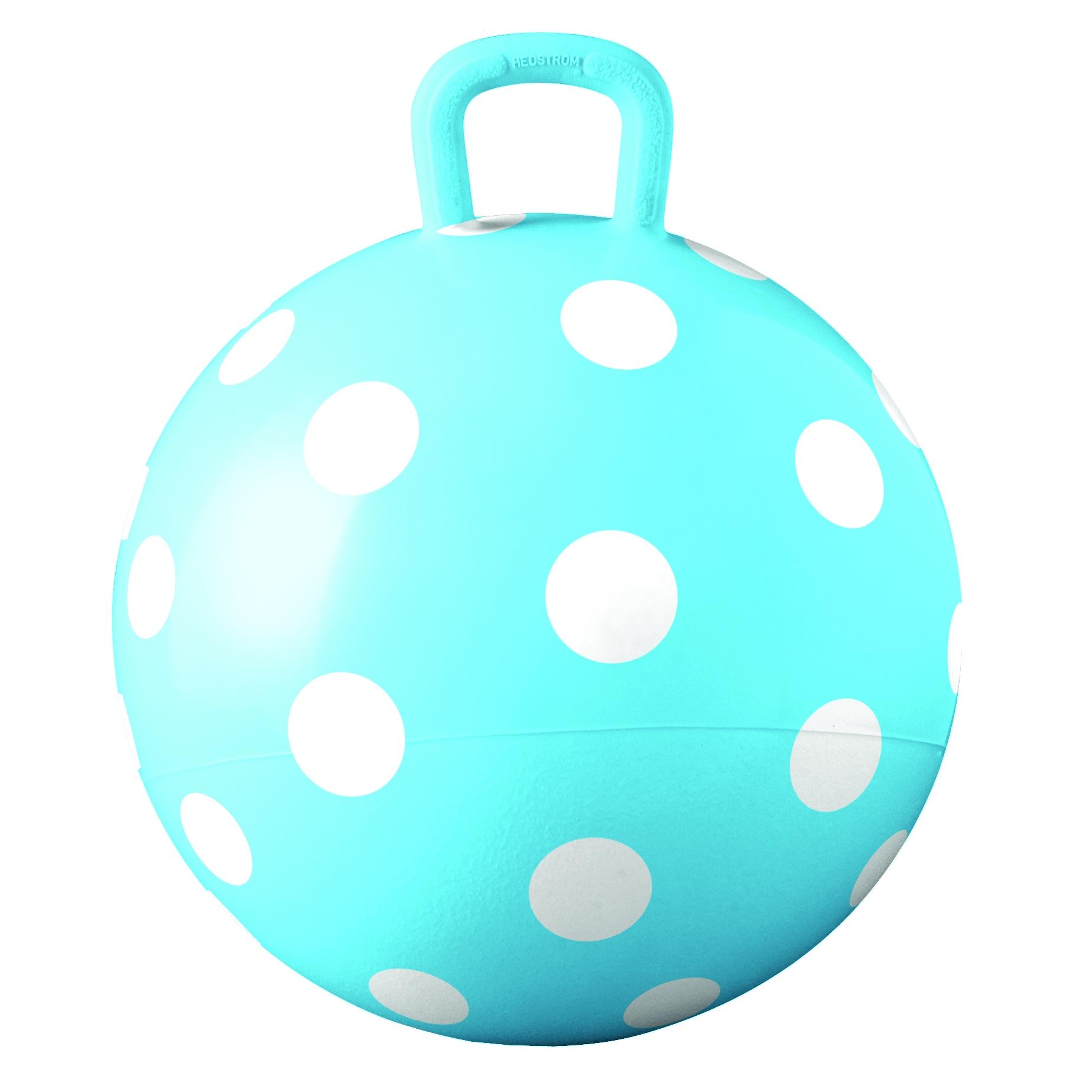 "Hedstrom 15-inch Blue Polka Dot Hopper (15"" Non-Licensed ..."