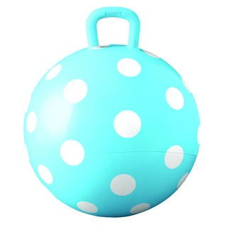 Hedstrom 15-inch Blue Polka Dot Hopper
