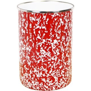 Reston Lloyd Calypso Basics Red Marble Enamel Utensil Holder