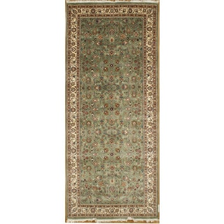 Hand Knotted Flat Weave Runner (3'6 x 10'3)