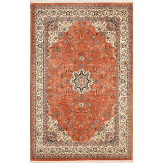 Hand Knotted Flat Weave Rug (6' x 9'4)