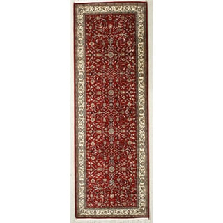 Hand Knotted Flat Weave Runner (5' x 10' 5)