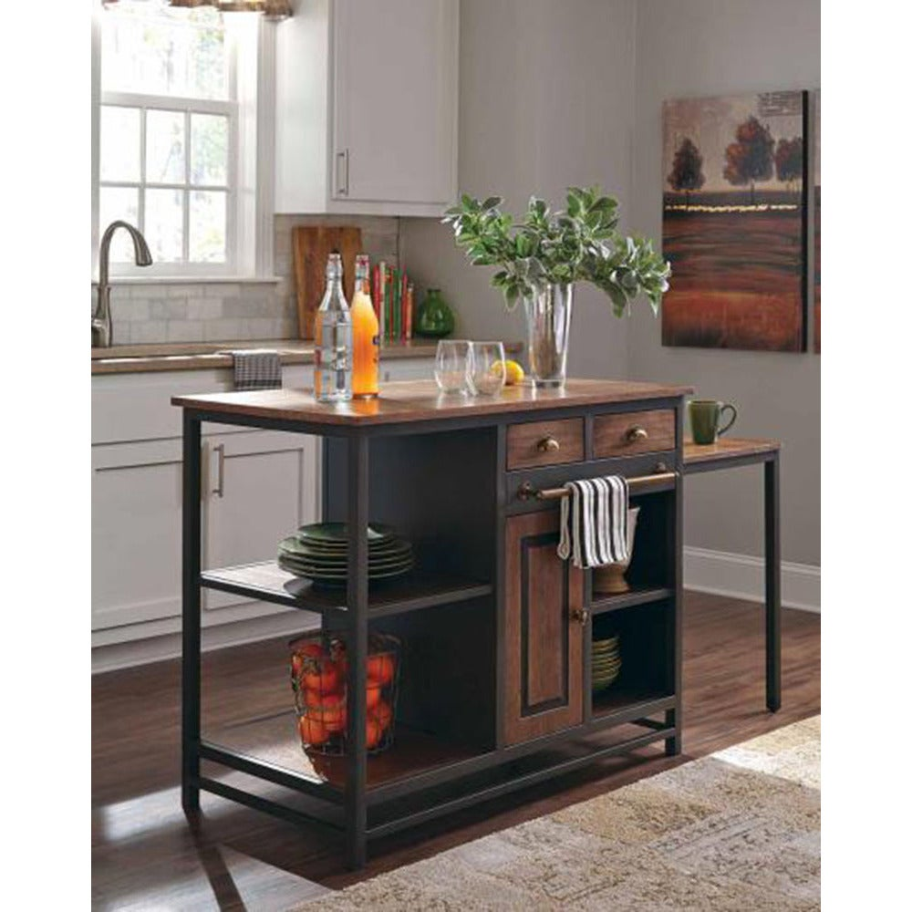 Shop Kilburn Kitchen Island Free Shipping On Orders Over - Overstock kitchen island