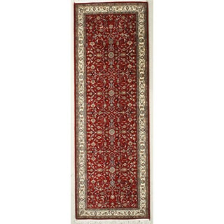 Hand Knotted Flat Weave Runner (5'1 x 10'3)