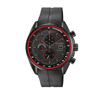 Citizen Men's CA0595-11F Drive - HTM Collection Black Stainless Steel and Polyurethane Watch