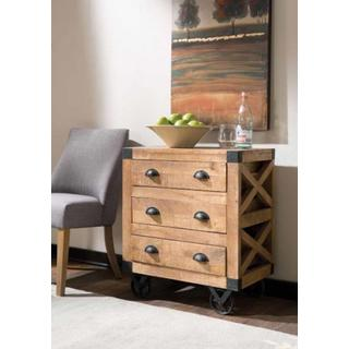Bowery 3-Drawer Accent Cabinet