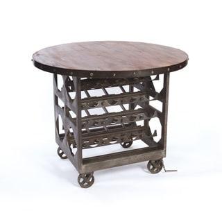Hip Vintage Napa Cellar Table