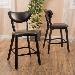 Ferra Fabric Counter Stool Set Of 2 By Christopher