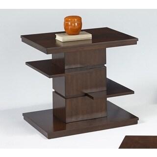 Waterfall Rectangular End Table