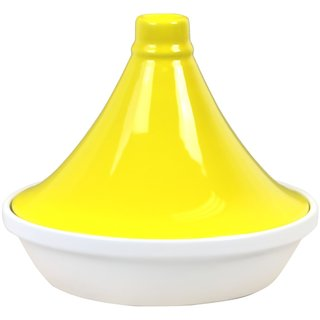 Reston Lloyd Eurita Yellow 2.5-quart Flame Proof Porcelain Tagine