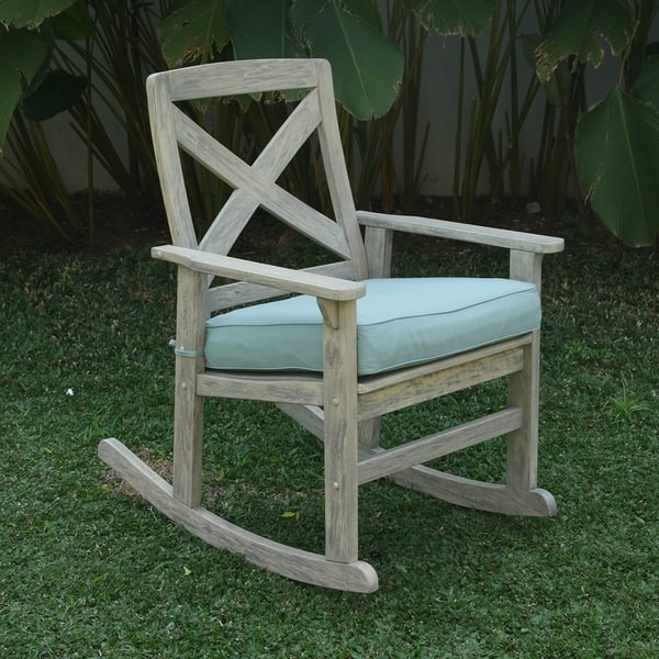 Shop Cambridge Casual West Lake Rocking Chair With Seat Cushion