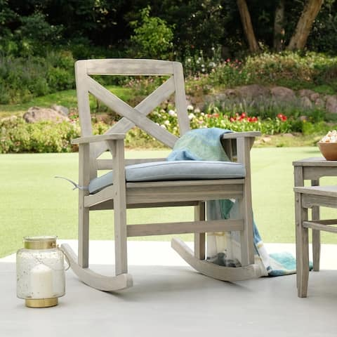 Cambridge Casual West Lake Rocking Chair with Seat Cushion