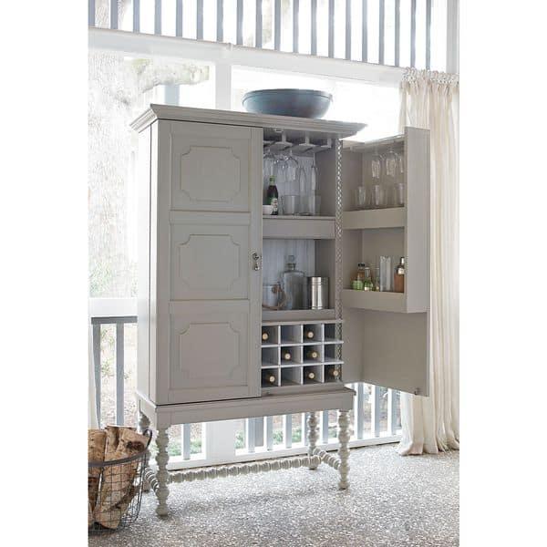 Shop Dogwood A Guy Walks Into A Bar Cobblestone Cabinet Overstock 11552200